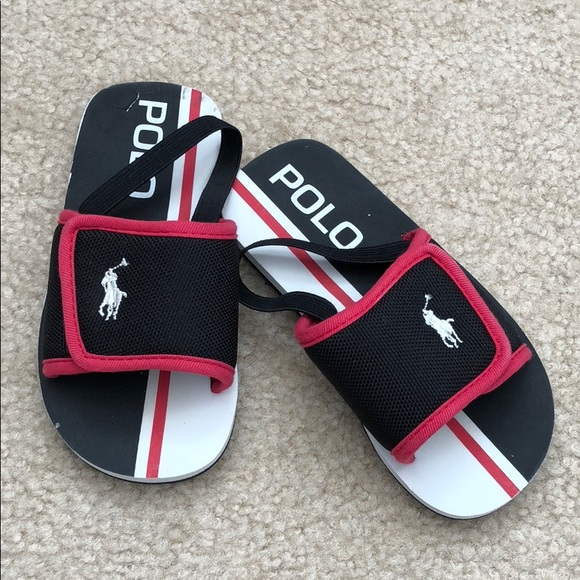 Polo Ralph Lauren Toddler Boy Slides